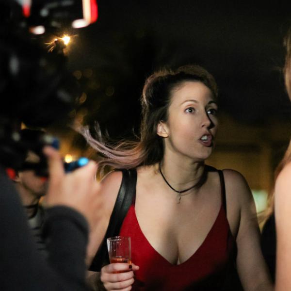 Behind the scenes Jess Riley Actor
